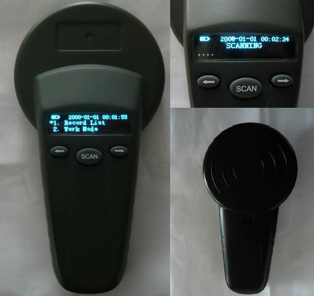 134.2 KHz Handheld RFID Reader Series for Animal Tracking