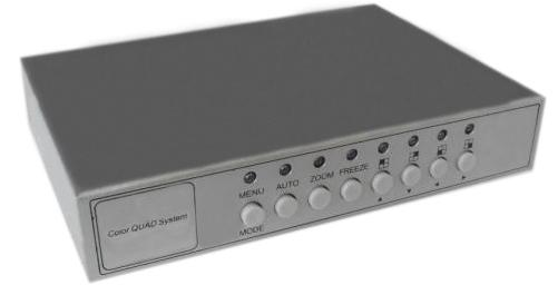 4 Channel Color Video Quad Processor