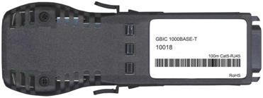 Extreme Compatible 1000Base-T GBIC Copper Transceiver (10018)