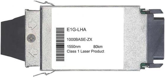 Foundry Compatible 1000Base-ZX GBIC Transceiver (E1G-LHA)
