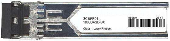 3Com Compatible 1000Base-SX SFP Transceiver (3CSFP91)
