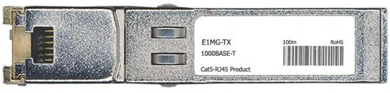 Foundry Compatible 1000Base-T SFP Transceiver (E1MG-TX)