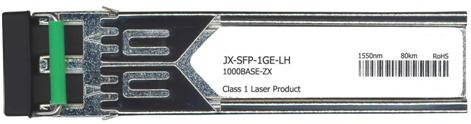 Juniper Compatible 1000Base-ZX SFP Transceiver (JX-SFP-1GE-LH)