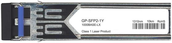 Force10 Compatible 1000Base-LX SFP Transceiver (GP-SFP2-1Y)