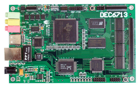 TI DSP Evaluation Boards & Tools : DEC6713 Evaluation Board