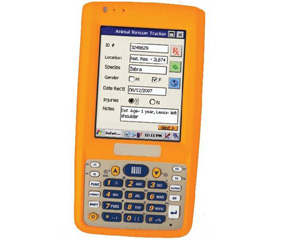 Rugged Handheld Mobile Computer with HF RFID Reader