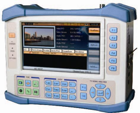 High Performance TV Signal Analyzer