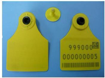 134 kHz LF Animal Tracking RFID Ear Tag