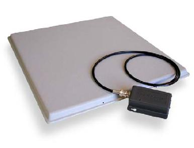 433 MHz. Active RFID Circular Polarised Patch Antenna